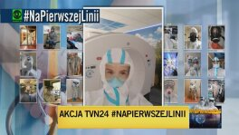 Akcja TVN24 #NaPierwszejLinii