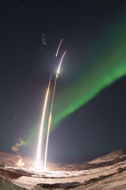 NASA wystrzeliła rakiety, żeby zbadać zorzę
