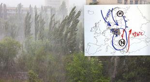 W tych regionach należy spodziewać się wichury