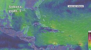 Gwałtowna pogoda na Oceanie Atlantyckim