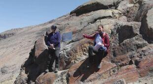 Naukowcy umieścili tabliczkę w miejscu nieistniejącego już lodowca